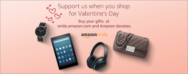 Support NCMC at Amazon Smile's gift guide